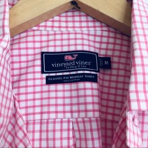 Vineyard Vines Classic Fit Gingham Button Down M
